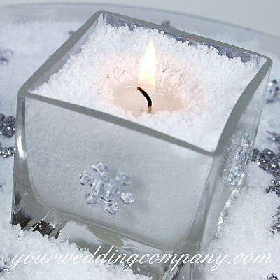 Faux Snow Vase Filler