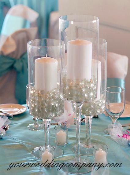 Glass Gems Vase Filler