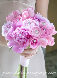 Rhinestone Bouquet Picks