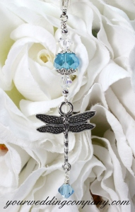 Dragonfly Bouquet Charm