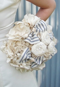 Bouquet of Fabric Flowers