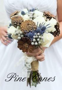 Pine Cone Bouquet Accents