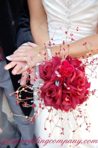 Colorful Beaded Bouquet Picks