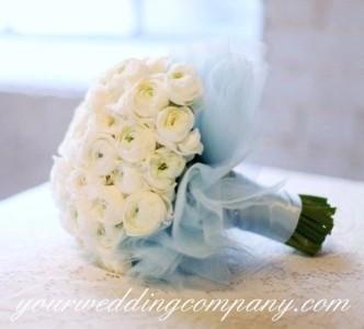Tulle Bouquet Wrap