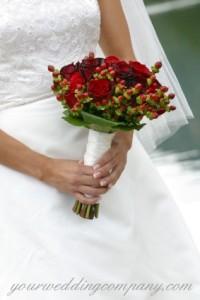 Satin Ribbon Bouquet Handle Accent