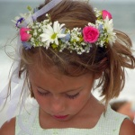 Flower Girl Head Wreath