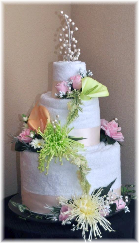 Pastel Towel Cake