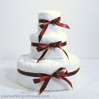 Towel Cake Tutorial Step 2