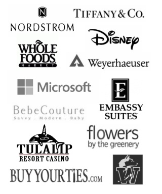 Corporate clients collage.