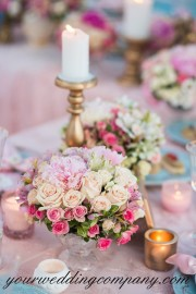 Reception Table Setting