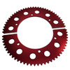 Pit Parts Split Sprocket - 68 Tooth - 35 Chain
