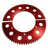 Pit Parts Split Sprocket - 72 Tooth - 35 Chain