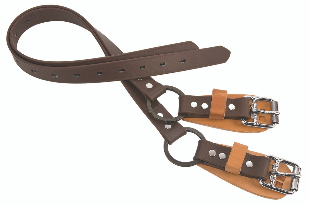 """Weaver Leather 26"""" Lower Climber Straps, Br"""