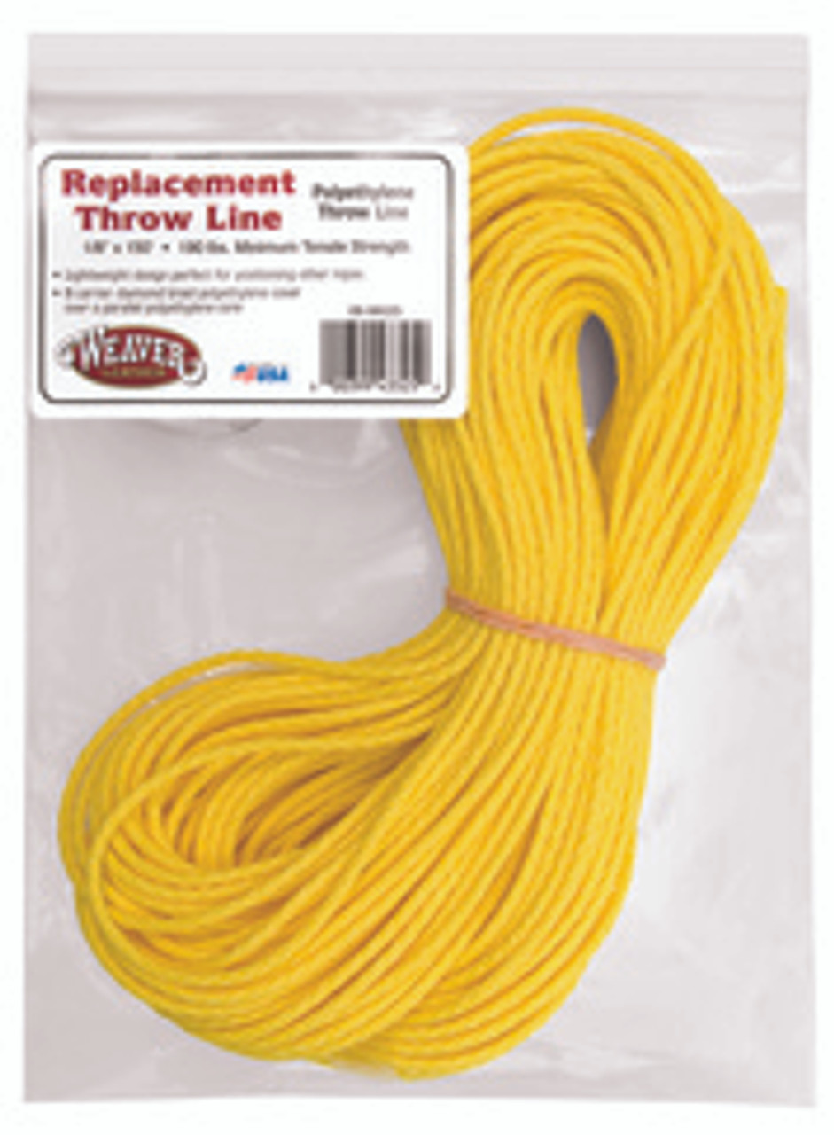 """Weaver Leather Rope,Poly 1/8"""" Ye,1000 Ft Roll"""