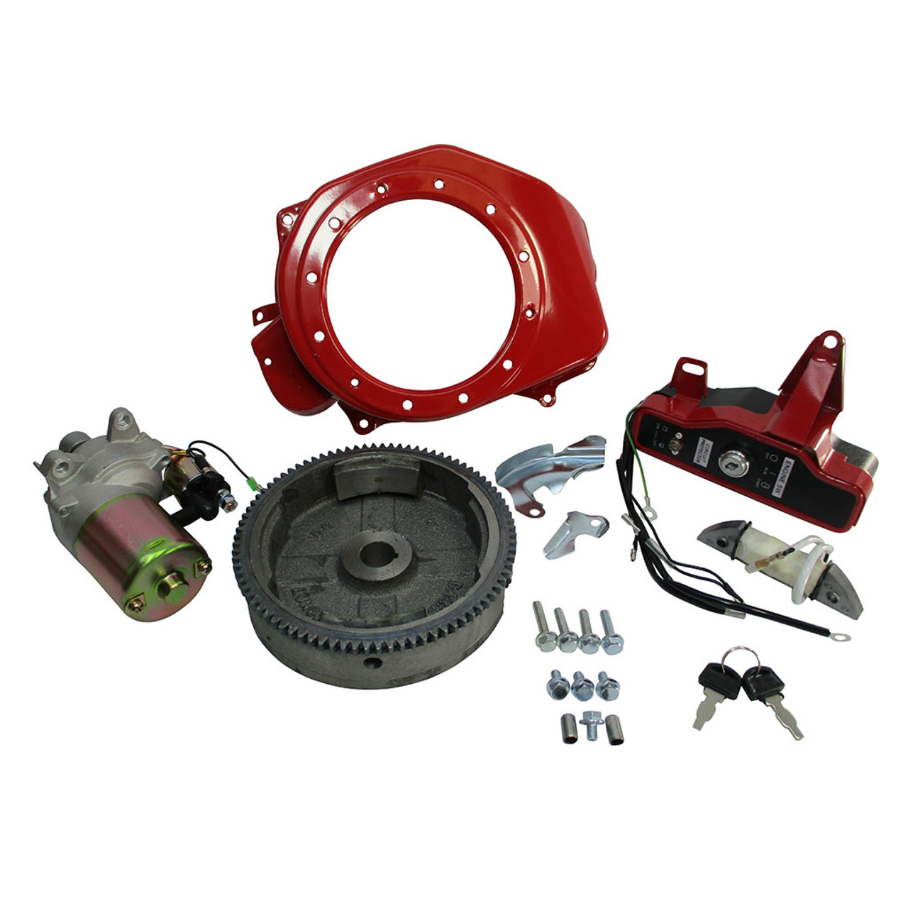Electric Start Kit, GX200 and 196cc Clone, Aftermarket Replacement