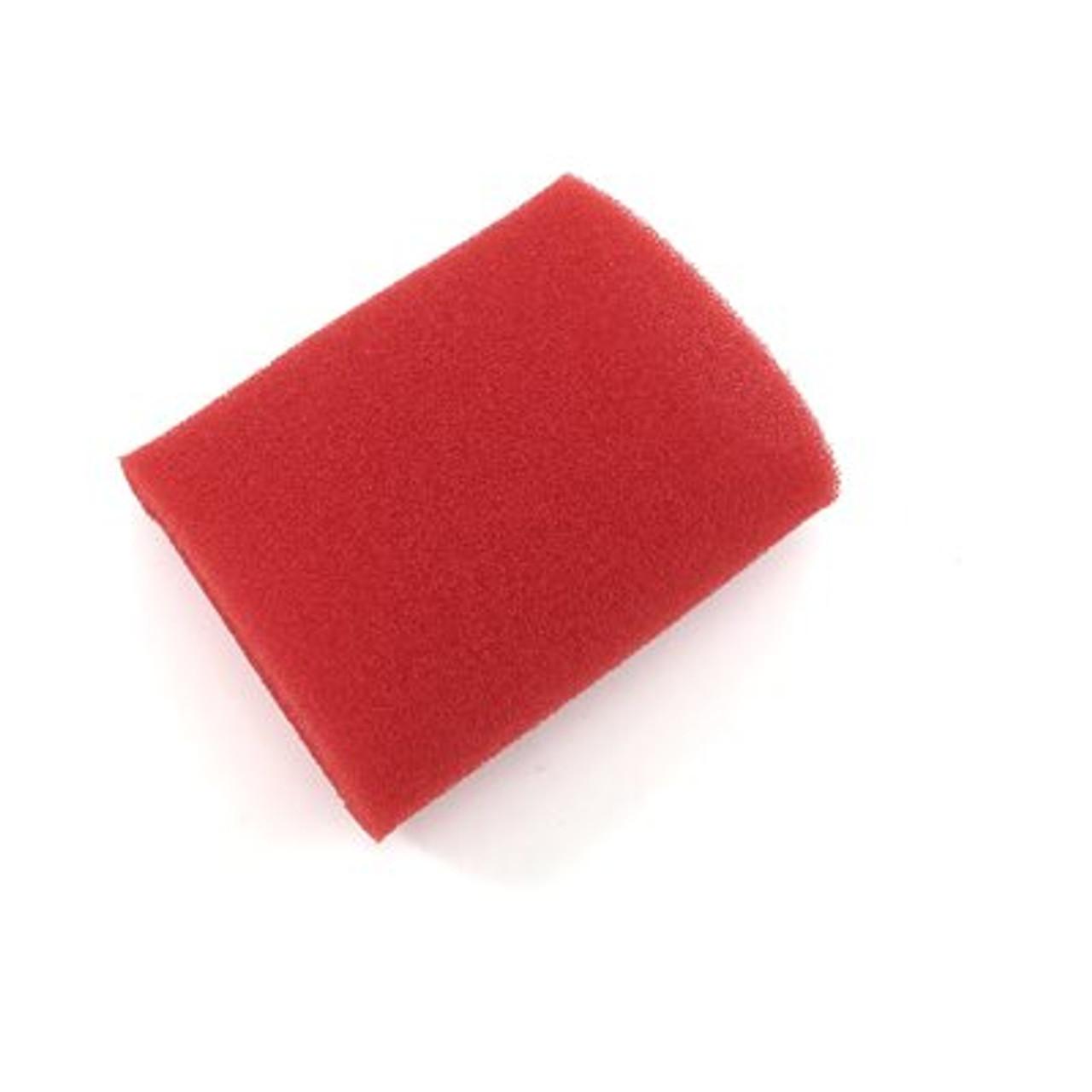 "Prefilter, Foam 3-1/2"" x 5"" Red"