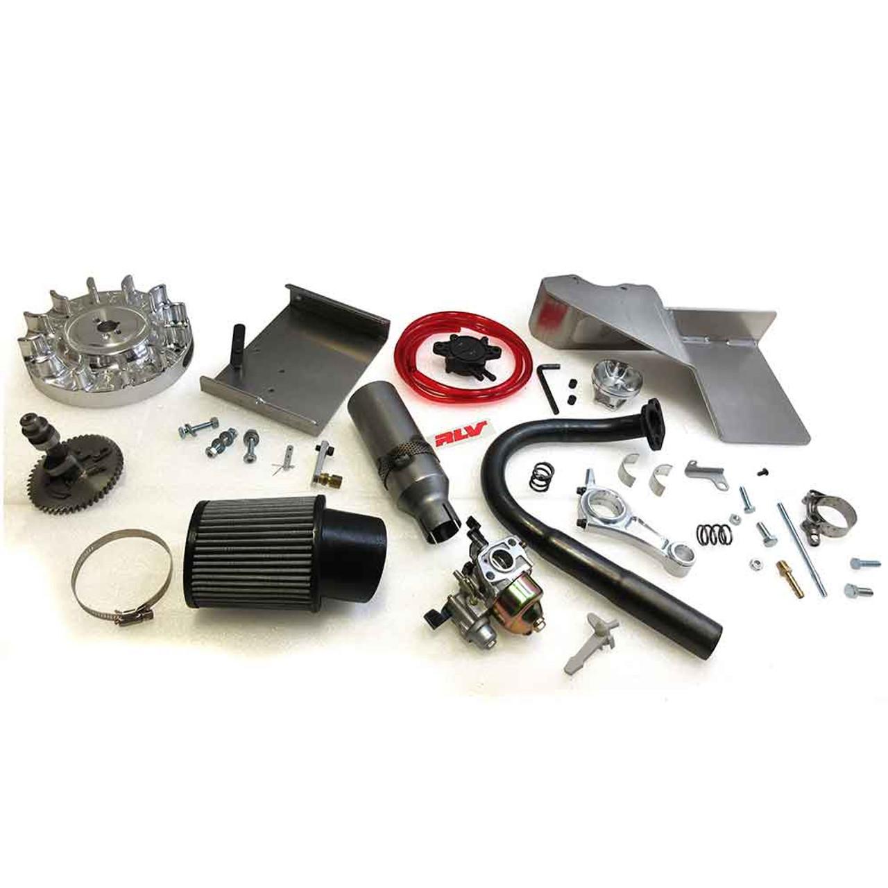 14-15HP+ - Builder Prepared Parts Kit, Predator 212 Non-Hemi Gen 3