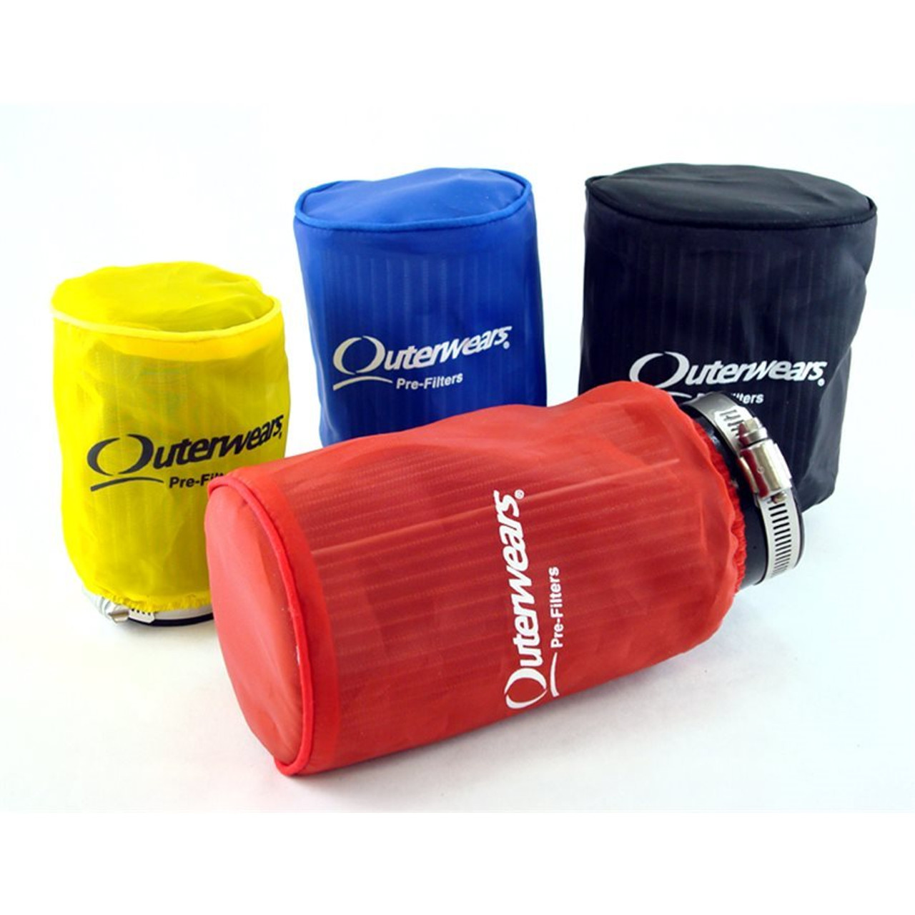 """Outerwears Prefilter, 3"""" x 4"""" (Red)"""