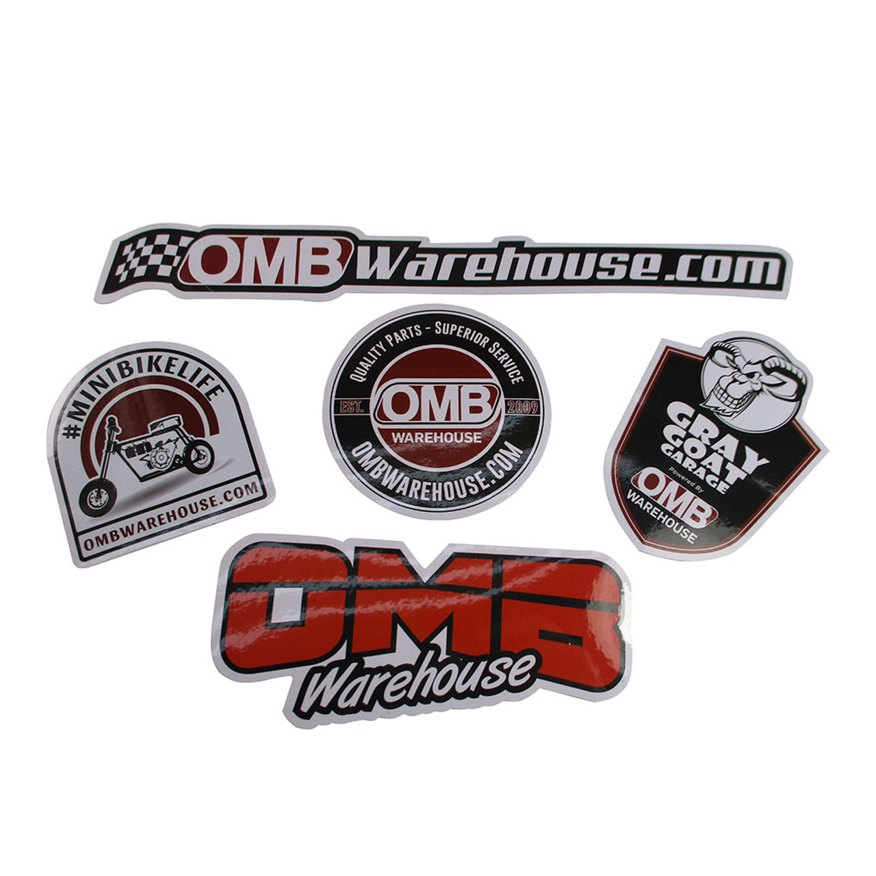 OMB Warehouse Sticker Pack