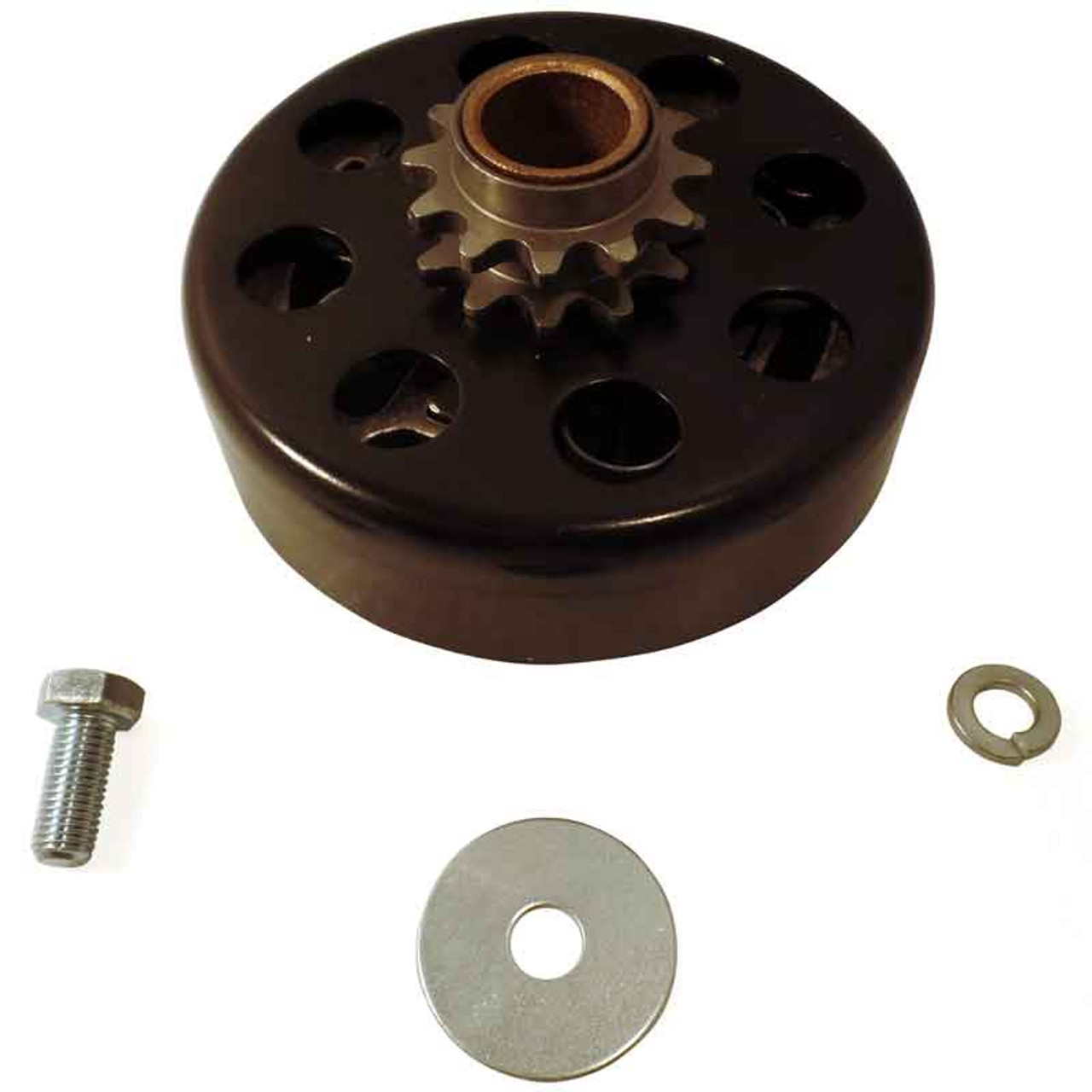 """Hilliard Extreme Duty Clutch 3/4"""" Bore 35 Chain -12 Tooth"""