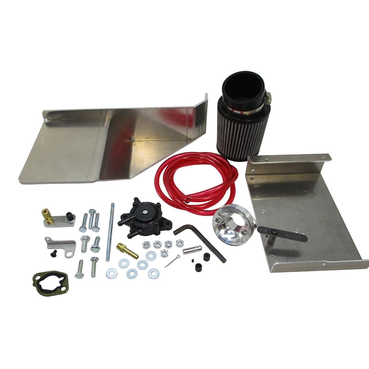 Predator 212cc NON-Hemi Box Stock Parts Kit Filter Fuel Pump Top Plate