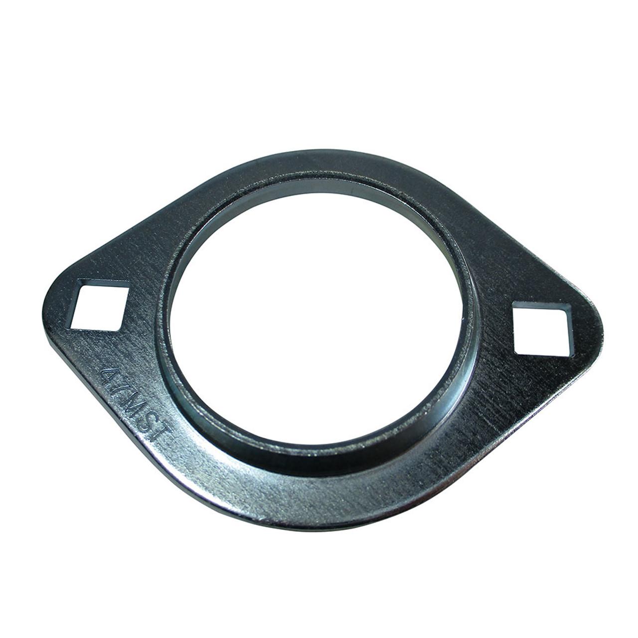 "3/4"" Axle Bearing Flangette, 2-Hole"