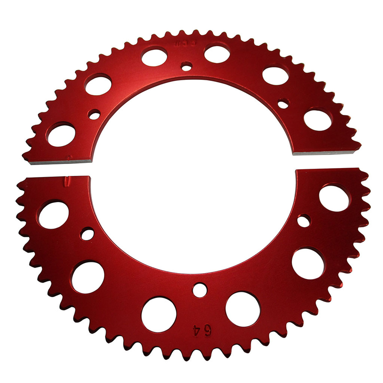 Pit Parts Split Sprocket - 64 Tooth - 35 Chain
