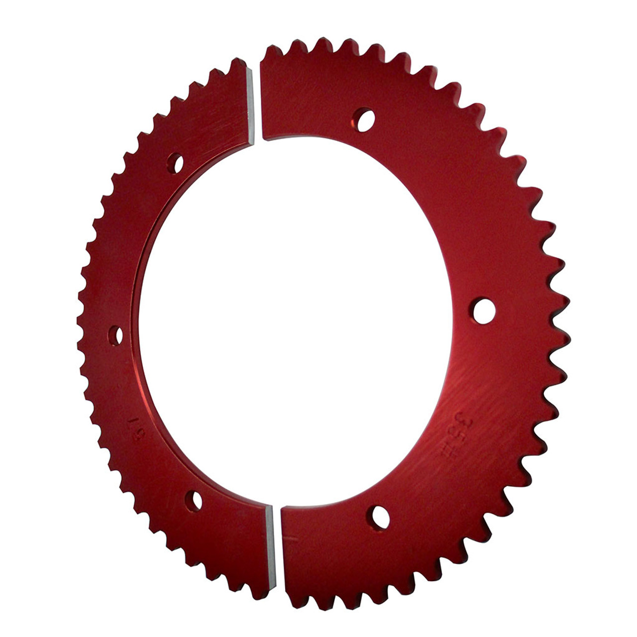 Pit Parts Split Sprocket - 57 Tooth - 35 Chain