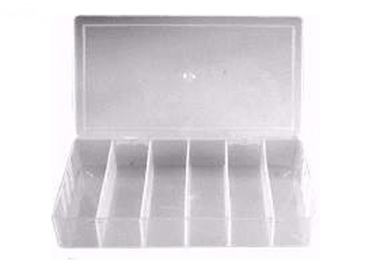 """Box Plastic Assortment Small 8"""" X 4 1/2"""""""