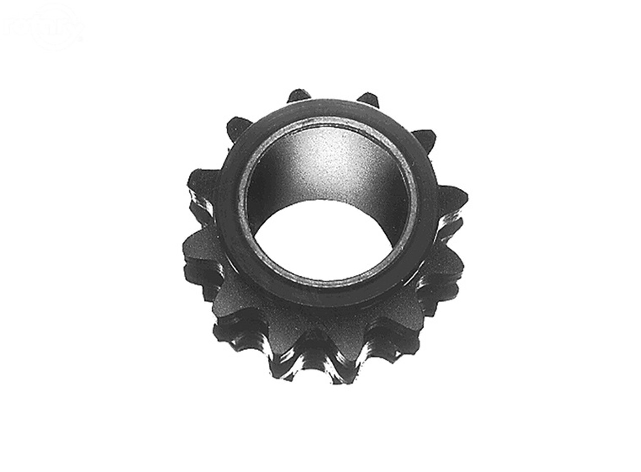 """Sprocket for 3/4"""" Max Torque Clutches 7/8"""" ID  12 Tooth"""