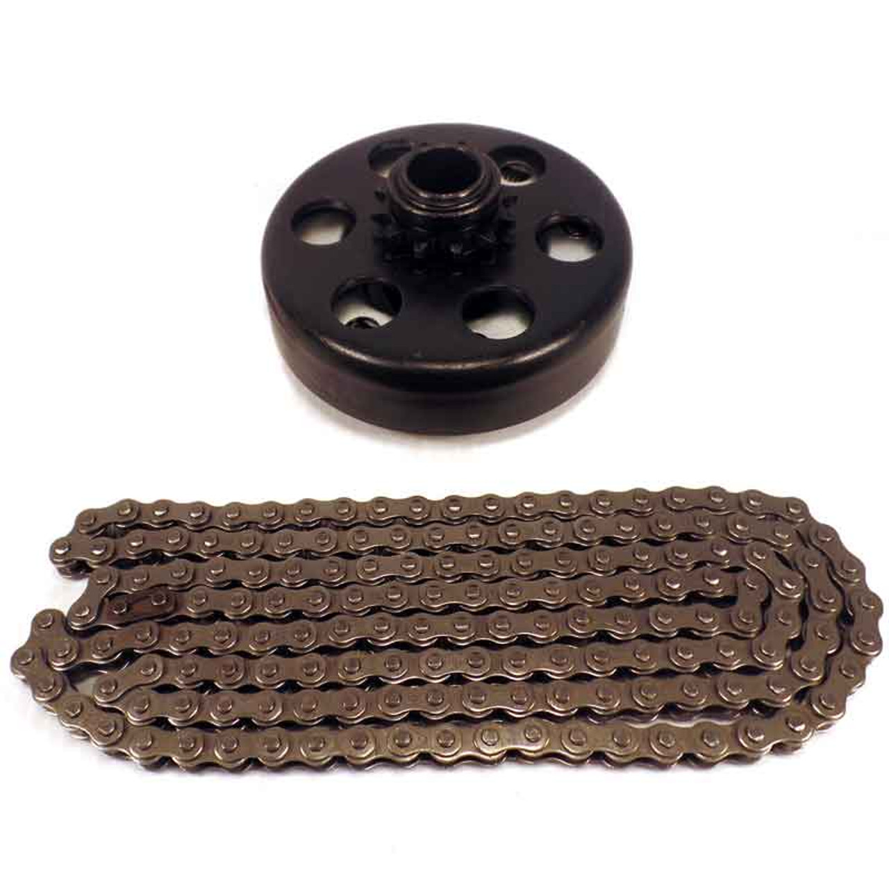 """3/4"""" Clutch 12 Tooth & 5' #35 Chain"""