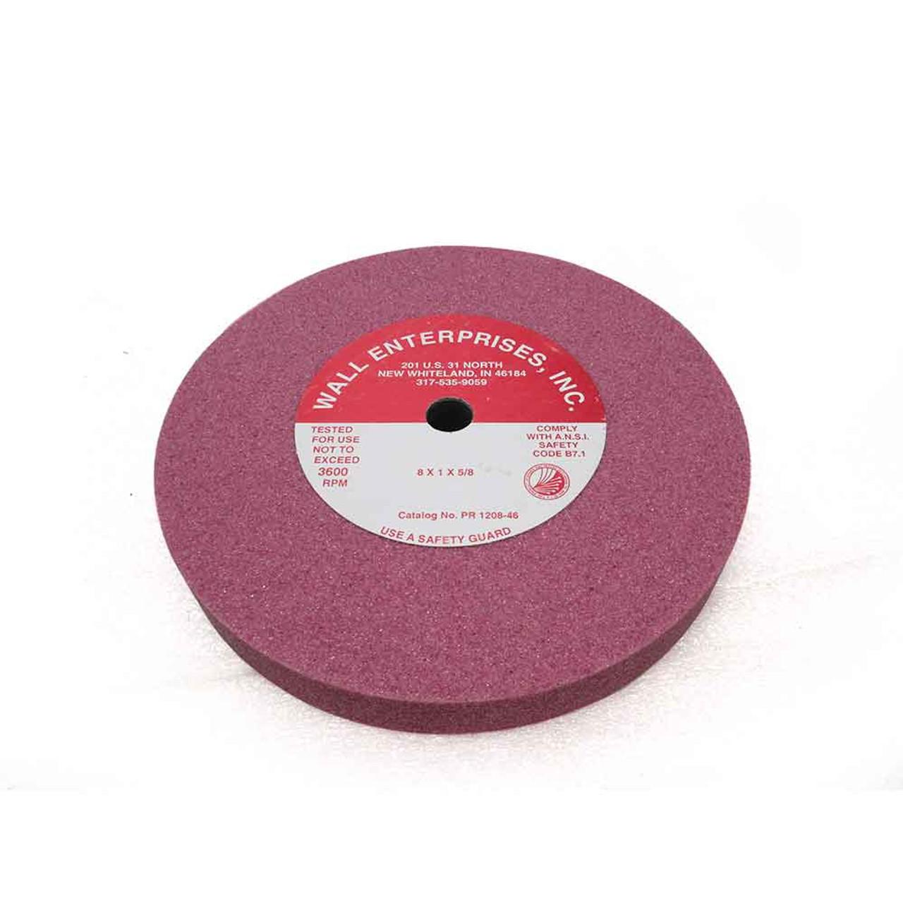 8''  Red Ruby Original Grinding Wheel 1208-46