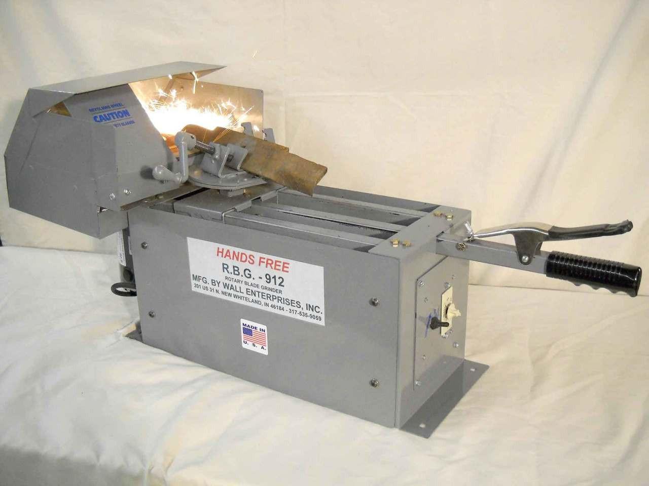 "RBG 9"" Fast Grind Lawn Mower Blade Sharpener"