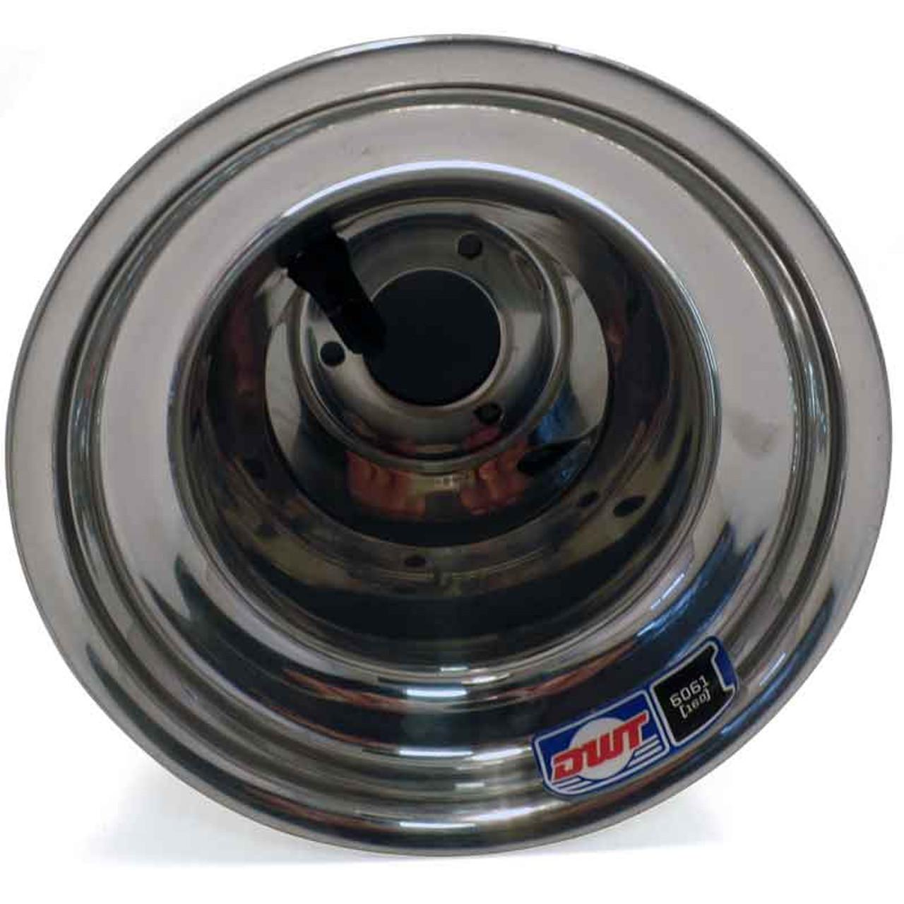 DWT 6'' AlumiLite Kart Wheels - US Pattern - 7.75''W