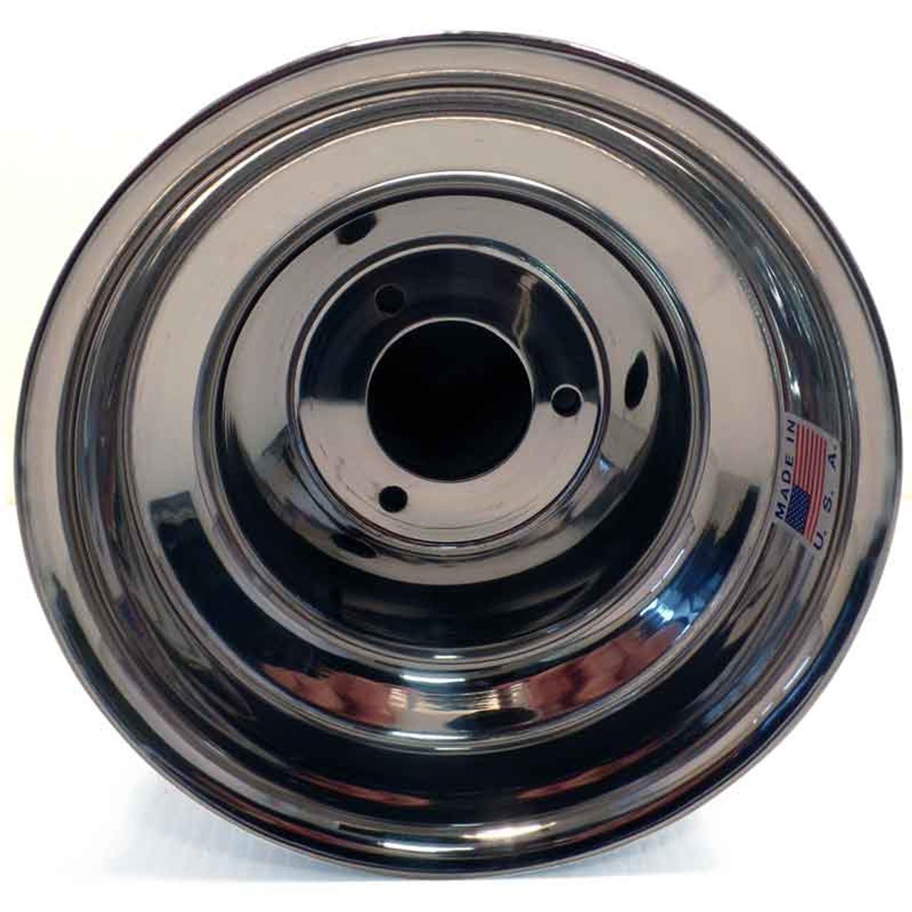 DWT 6'' AlumiLite Kart Wheels - US Pattern - 8.75''W