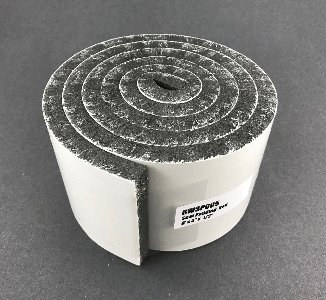 "Foam Seat Padding - 1/2"" x 4"" x 6'"