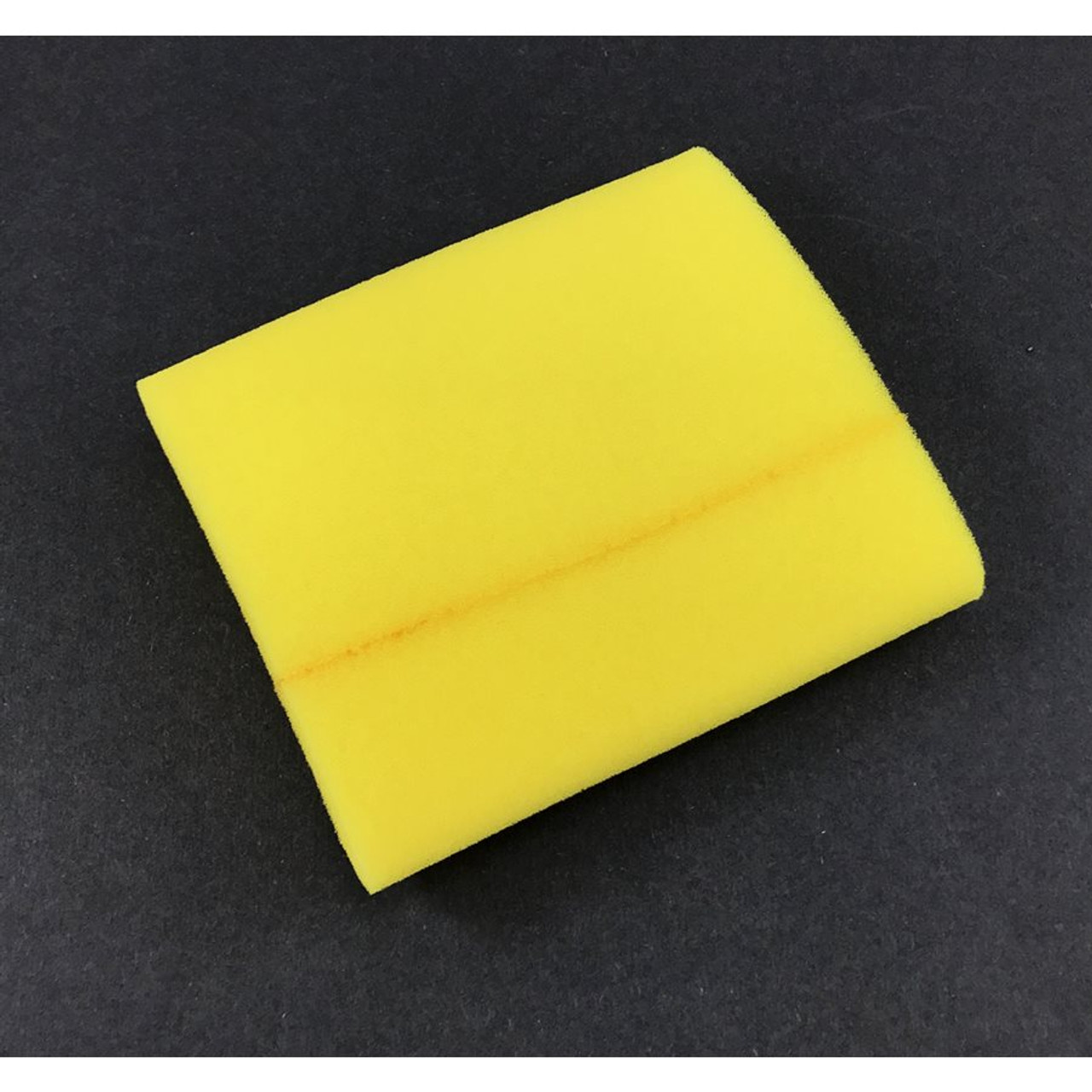 "Foam Pre-Filter Yellow  3-3/4x6"""