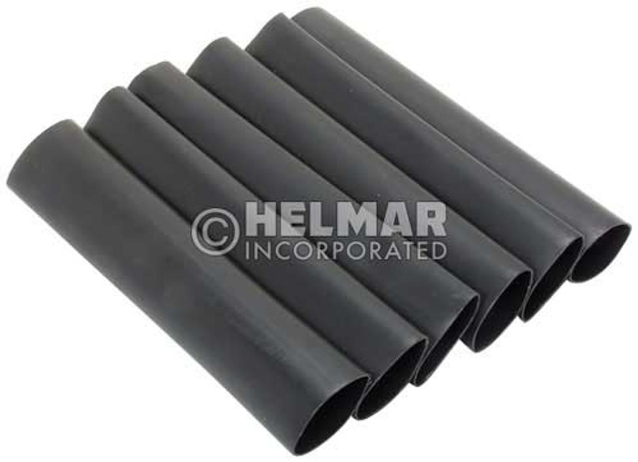 05402 Heat Shrinkable Tubing, Black, 8-2 Gauge
