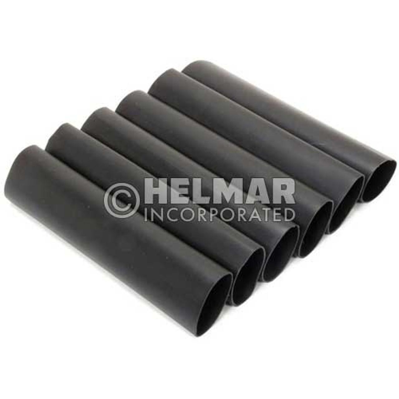 05406 Heat Shrinkable Tubing, Black, 1/0 - 4/0 Gauge