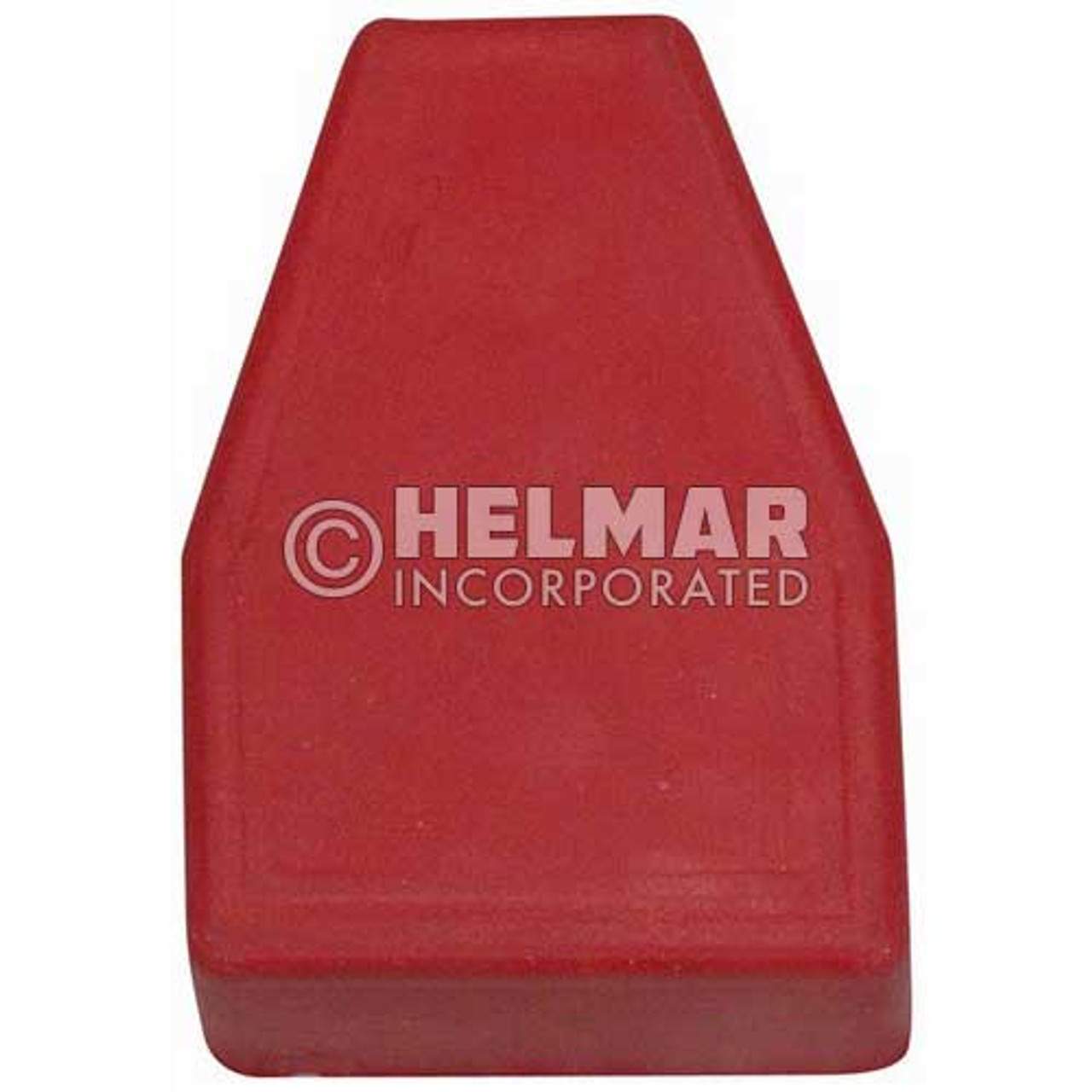 06101 Terminal Boots Straight, Red, 4-6 Gauge