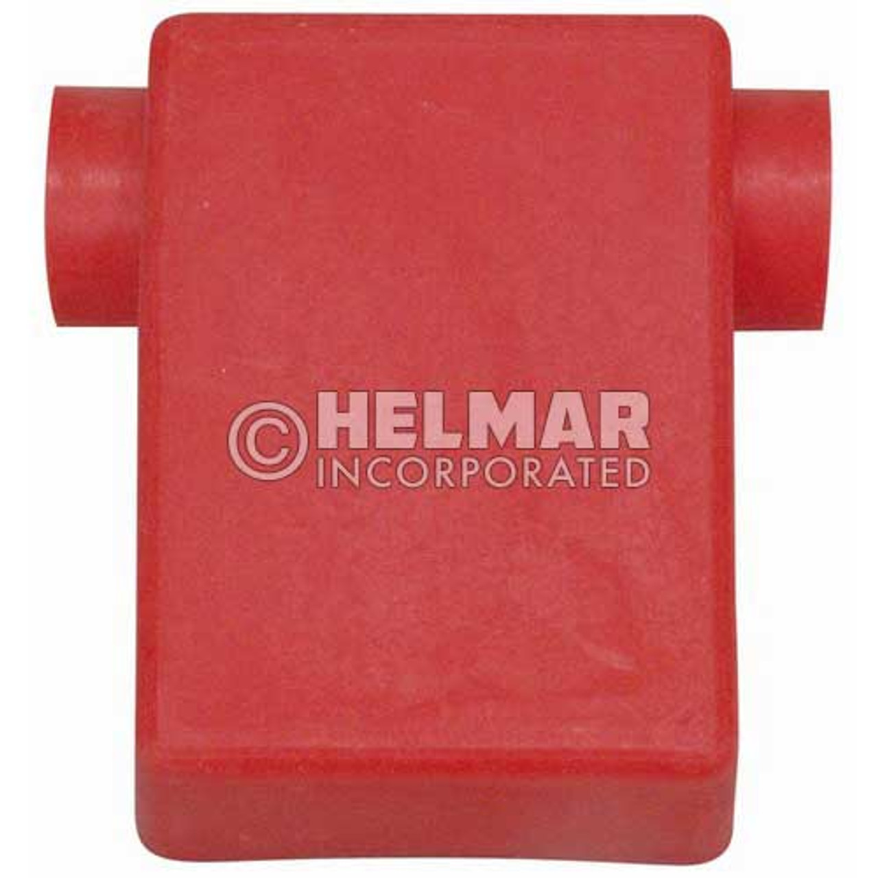 06107 Terminal Boots Flag, Red, 2/0 Gauge