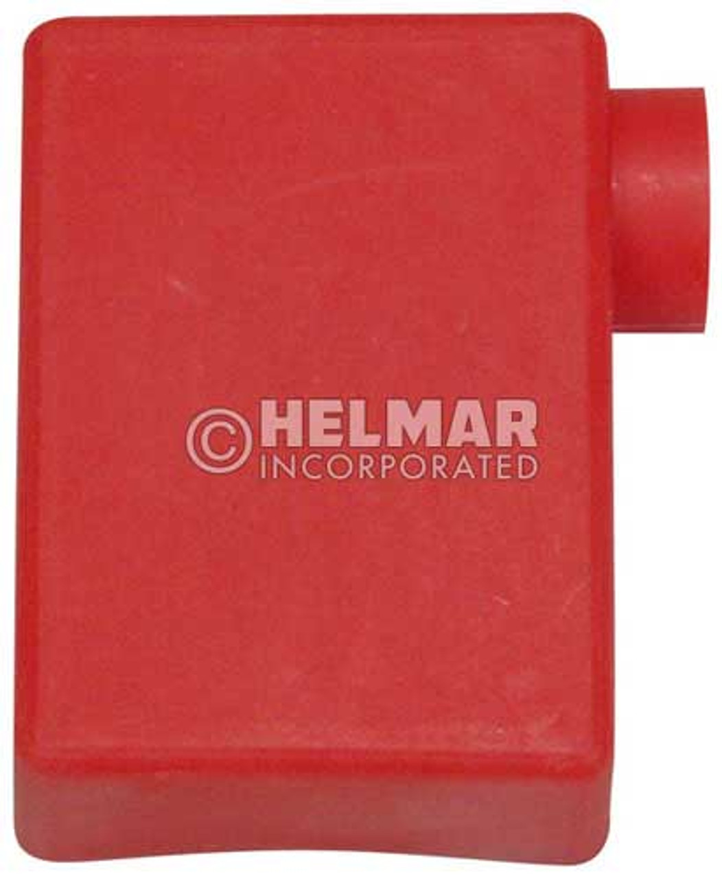 06109 Terminal Boots RT Elbow, Red, 2/0 Gauge