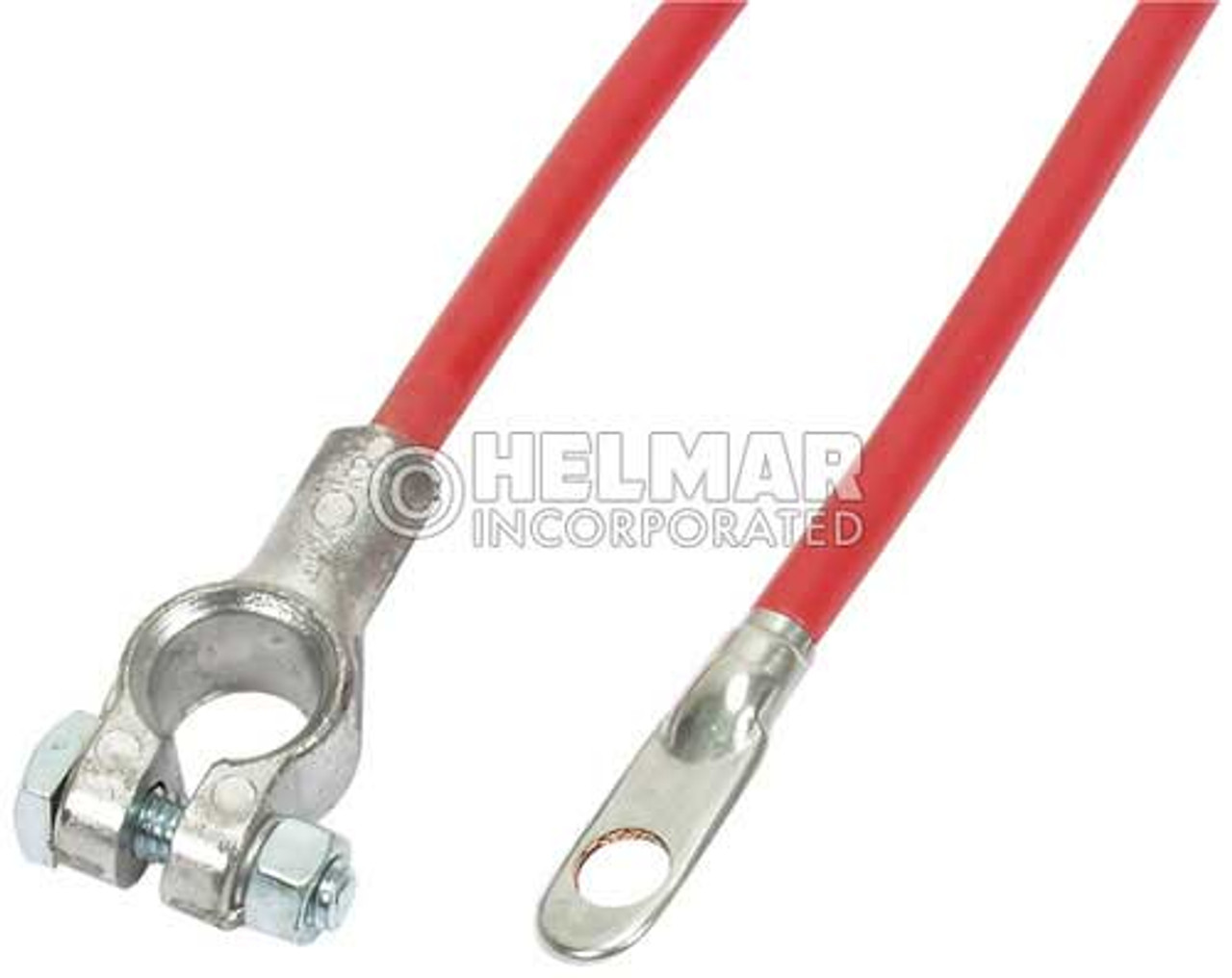 """04142 Red Battery Cables, 25"""" Length, 4 Gauge"""