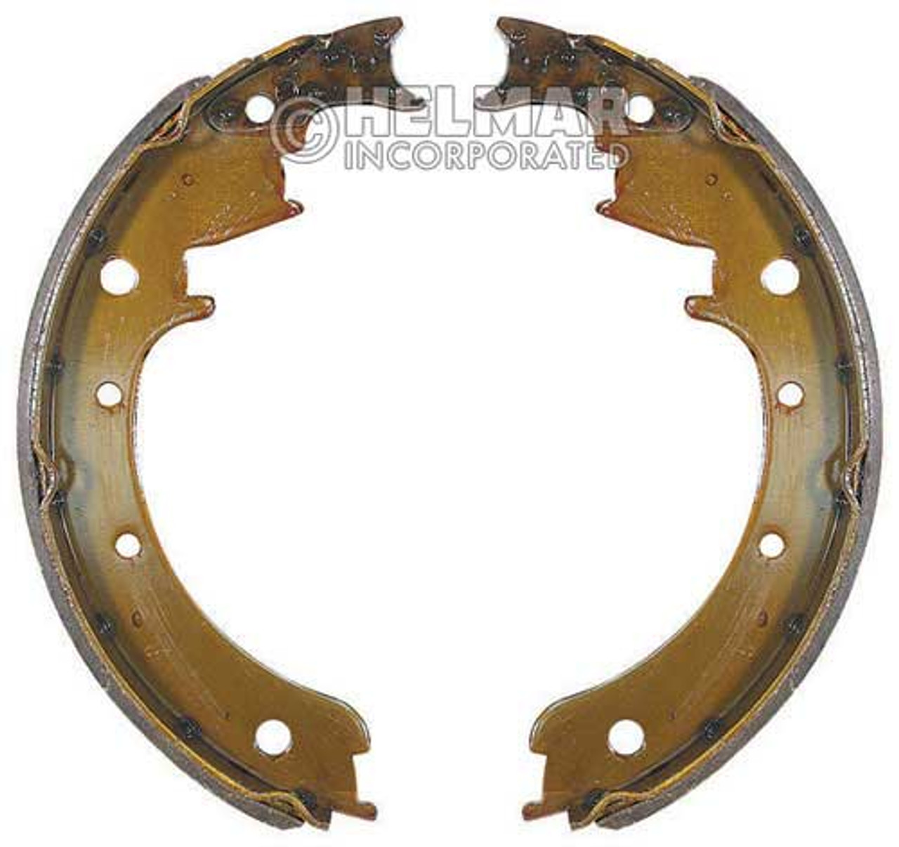 1515374 Hyster Brake Shoe Set Type 2BS-11, 2 Shoes