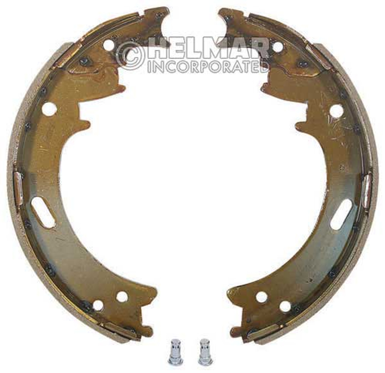 2047122 Hyster Brake Shoes Set Type 2BS-10, 2 Shoes
