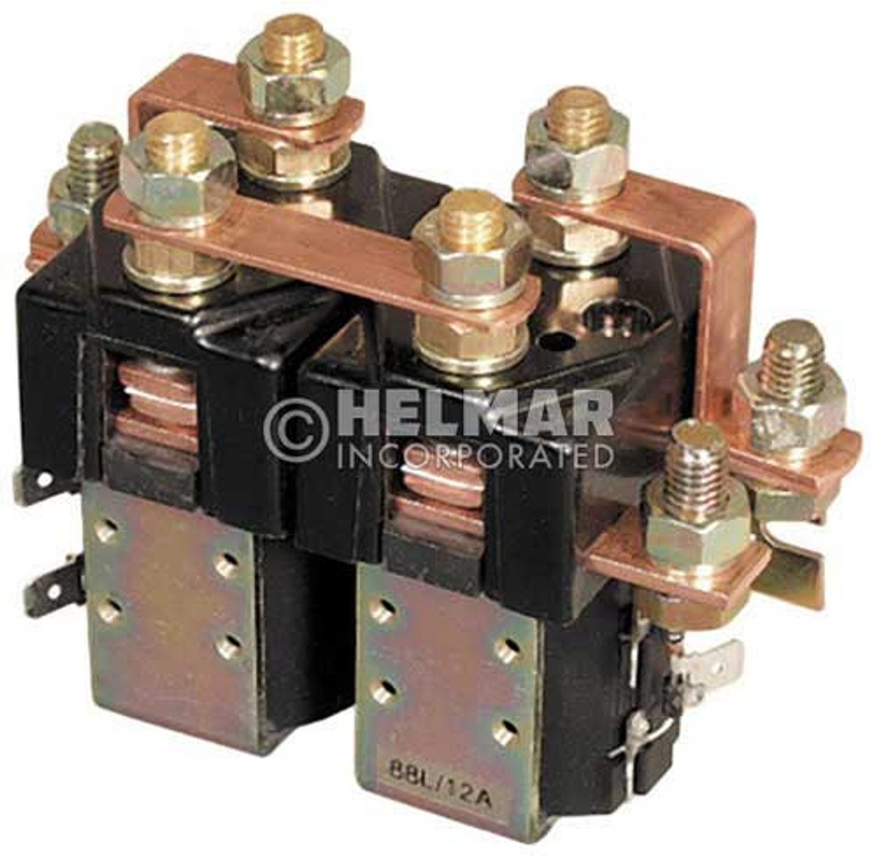 CTR-12-106 12 Volt 80 Amp Contactor, Double Pole - Double Throw - Intermittent Coil