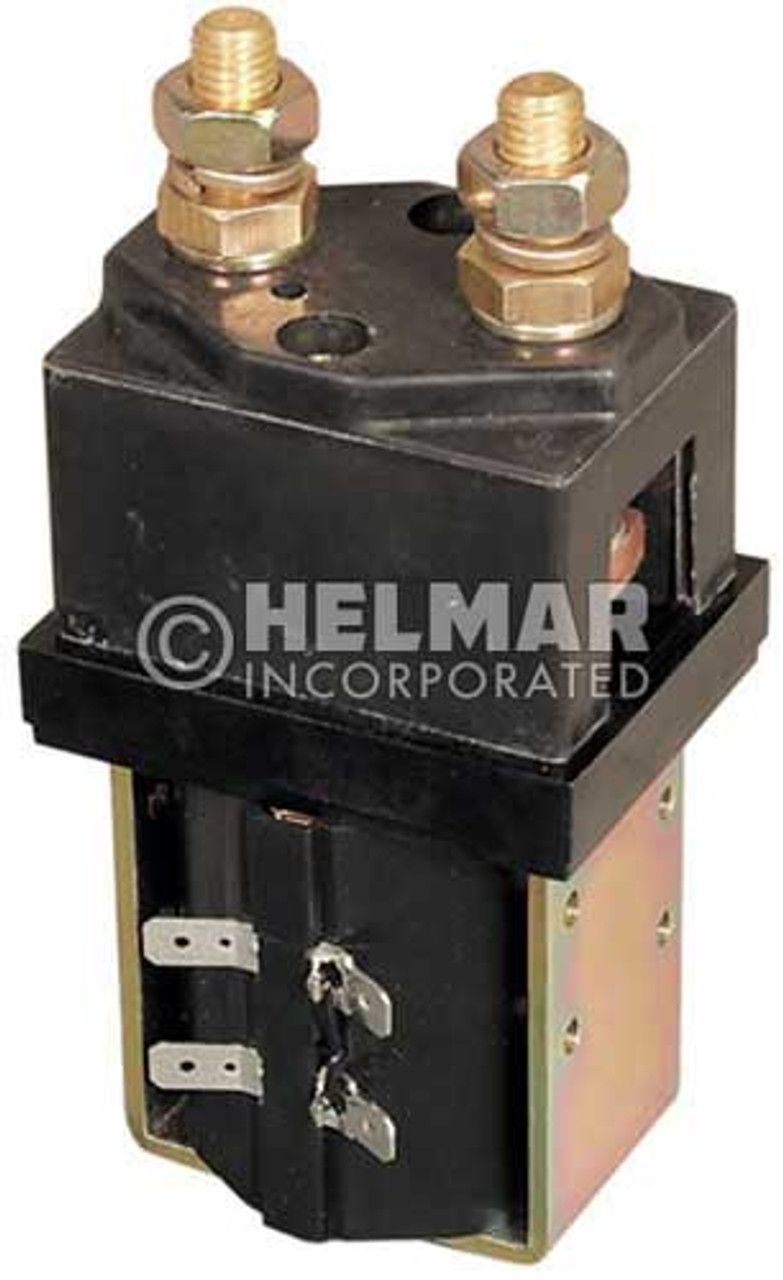 CTR-24-218 24 Volt 250 Amp Contactor, Single Pole - Single Throw - Intermittent Coil - Blow Outs
