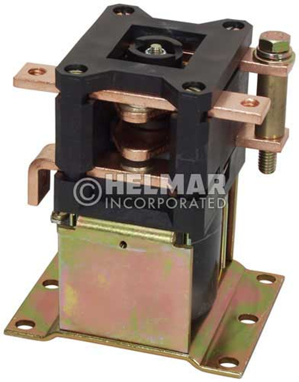 CTR-36-330 36 Volt 300 Amp Contactor, Double Pole - Double Throw - Continuous Coil - Mounting Brackets