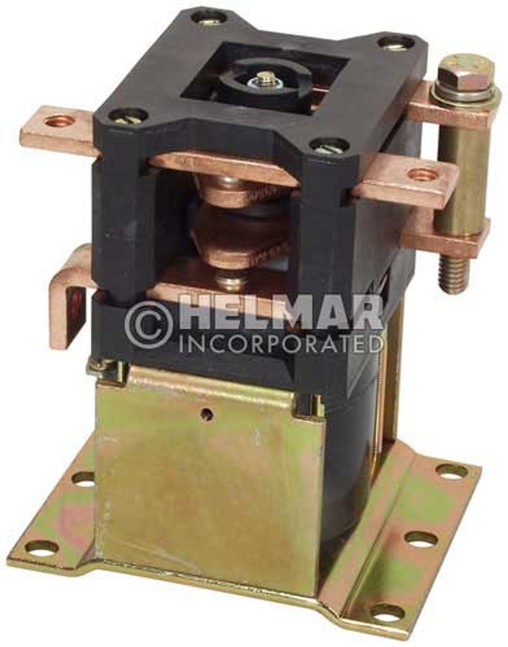 CTR-36-321 36 Volt 300 Amp Contactor, Double Pole - Double Throw - Continuous Coil - Mounting Brackets