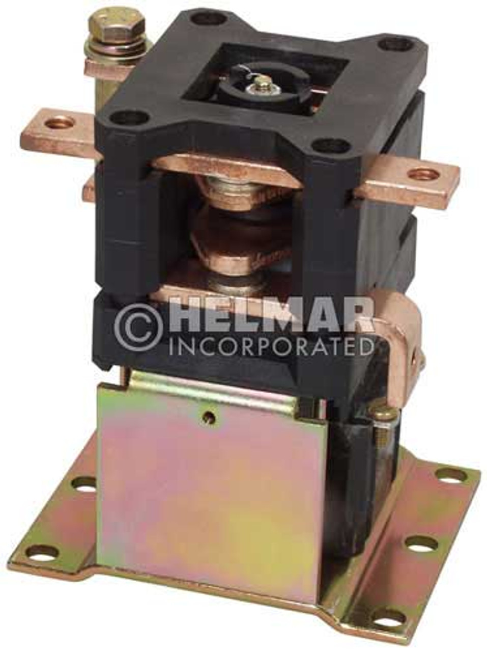 CTR-36-318 36 Volt 300 Amp Contactor, Double Pole - Double Throw - Continuous Coil - Mounting Brackets